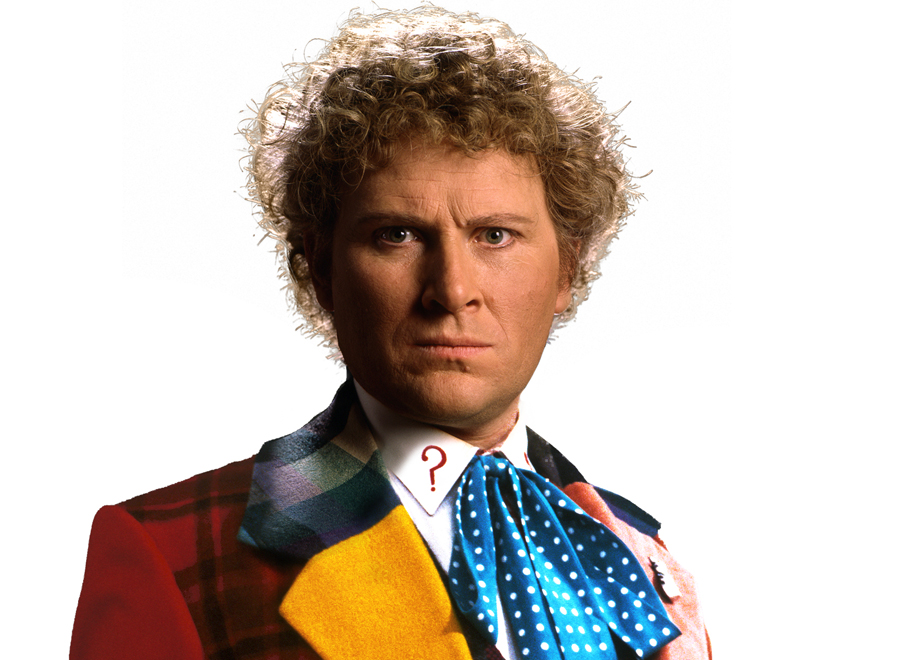***HERO COMPLEX MAGAZINE FOR MARCH 20, 2013. DO NOT USE PRIOR TO PUBLICATION.************ Colin Baker, the Sixth Doctor, 1984-1986 in the series Doctor Who.