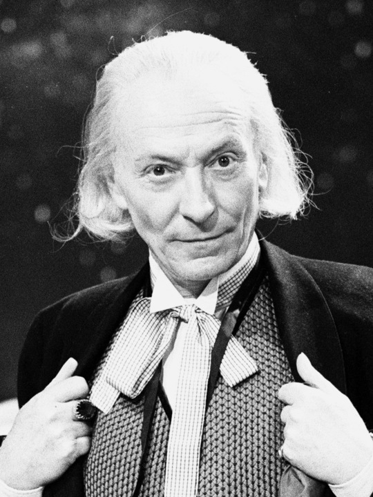 Actor William Hartnell - the first Doctor - pictured during rehearsals at Television Centre - Studio TC1 - 10th February 1965. *** Local Caption *** Dr Who -  - 13/08/2010  (Newscom TagID: mrpphotos282516) [Photo via Newscom]