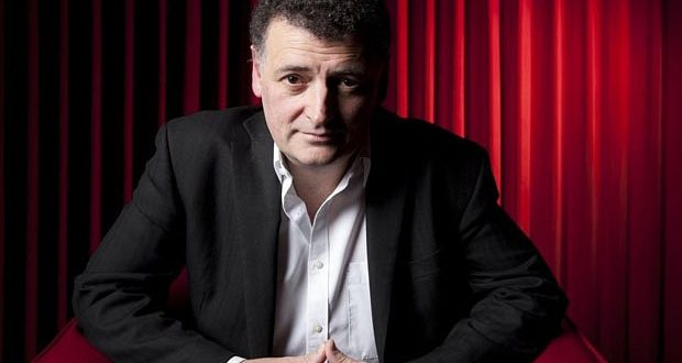 May0030002 Steven Moffat for DT Arts...May0030002 Steven Moffat for DT Arts. Picture shows Scottish television scriptwriter & producer Steven Moffat. Picture date 09/03/2011